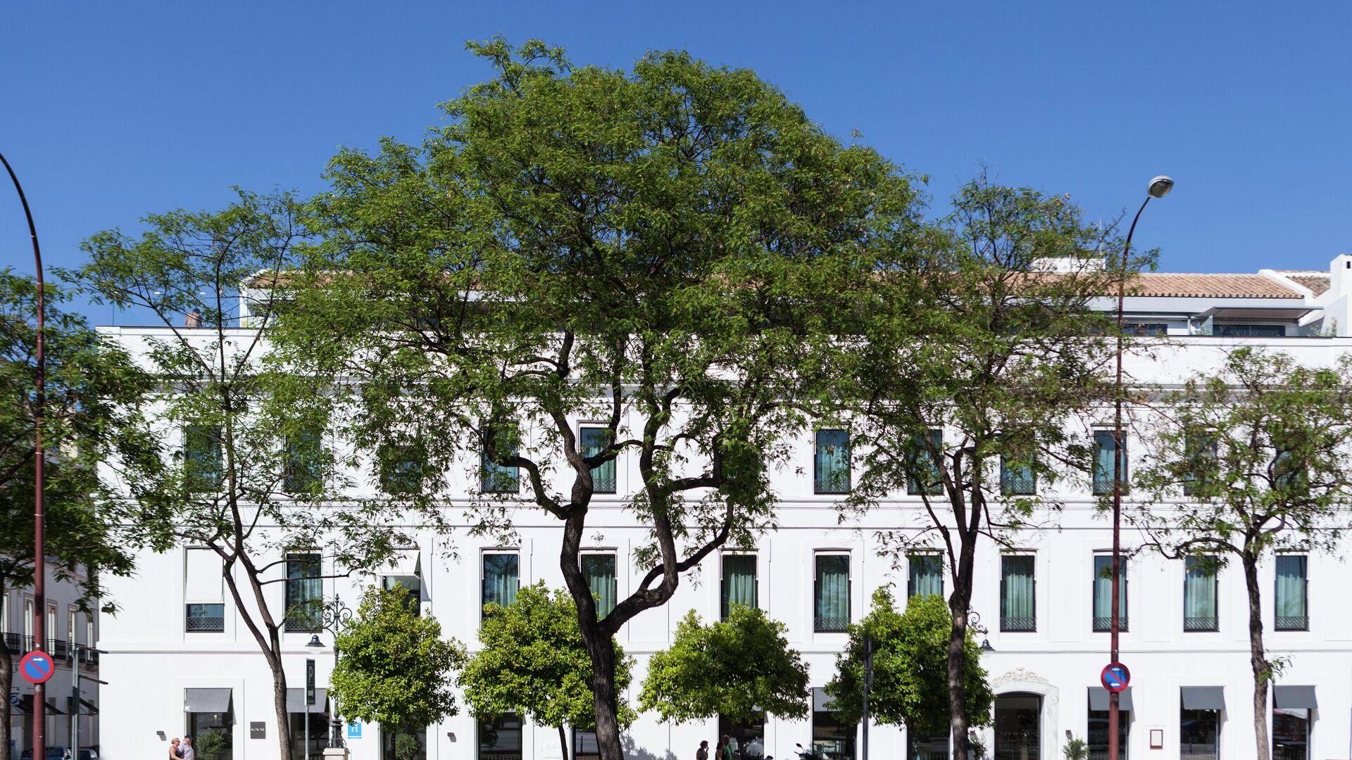 Fachada principal del Hotel de CyO - Sputnik Mundo, 1920, 08.07.2021