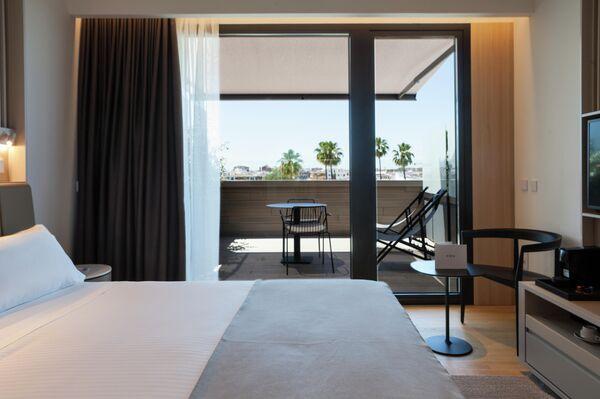 Habitacion premium con terraza del hotel Kivir - Sputnik Mundo