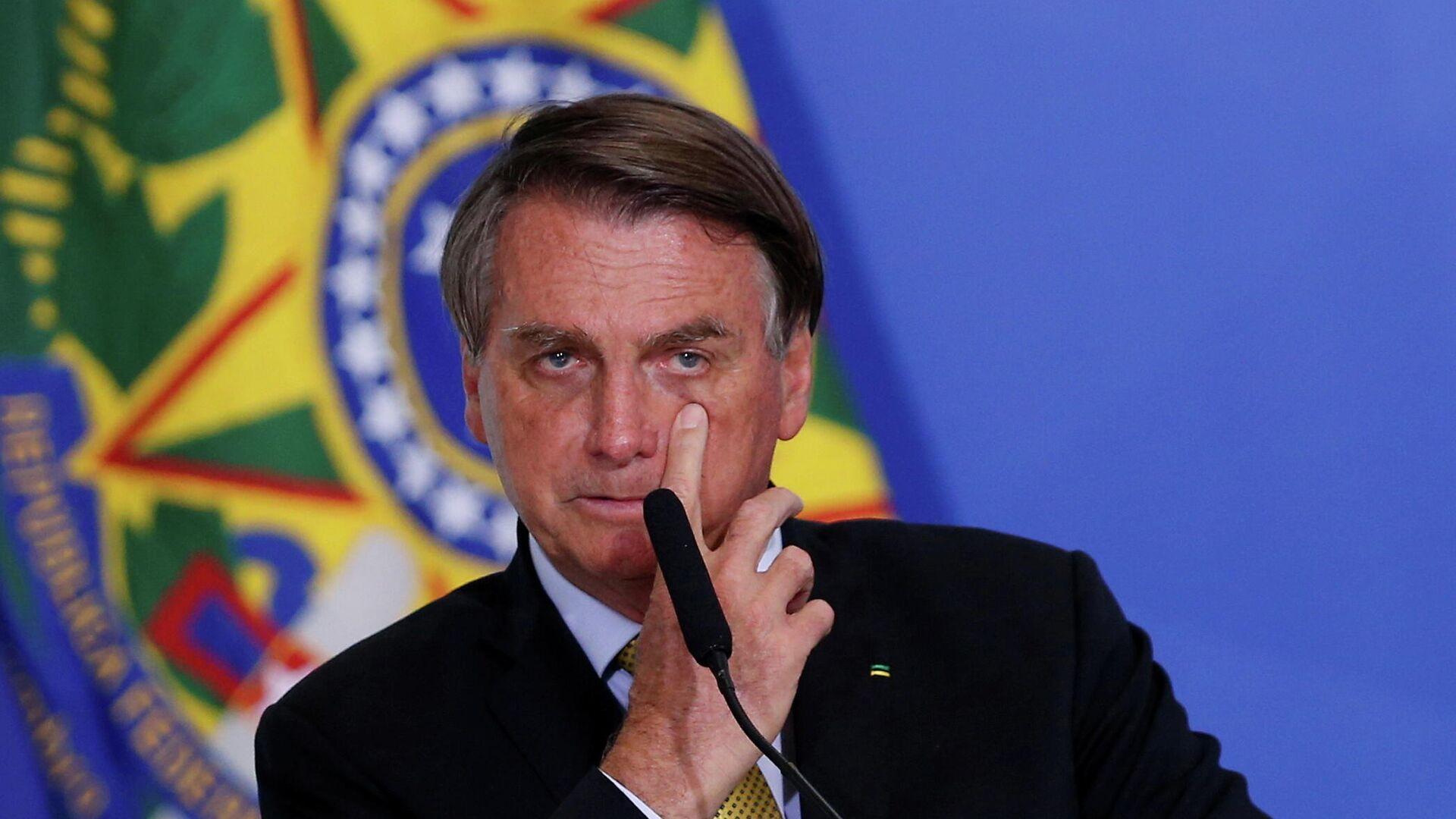 Jair Bolsonaro, presidente brasileño - Sputnik Mundo, 1920, 08.07.2021