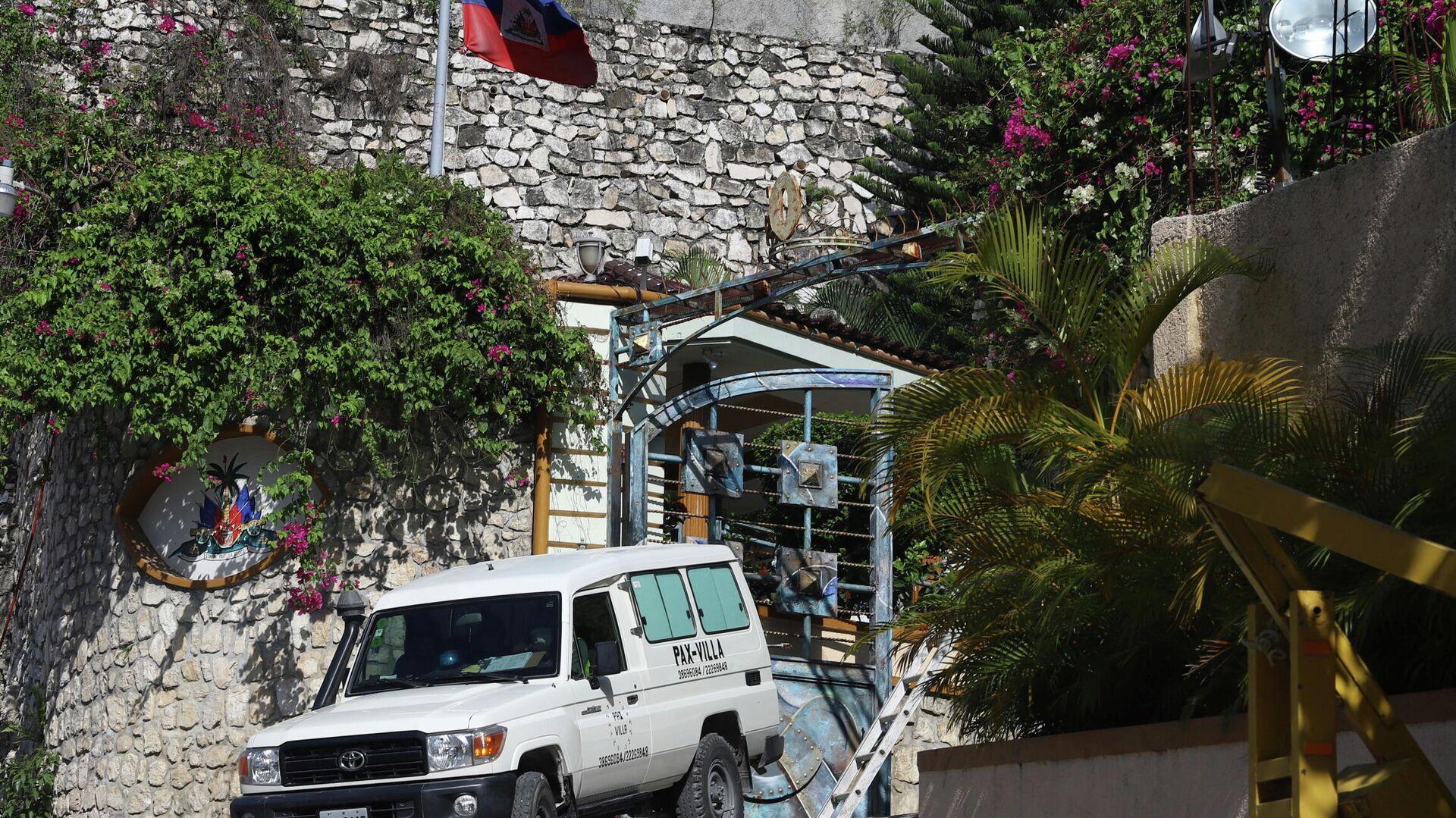 Residencia del expresidente haitiano Jovenel Moise - Sputnik Mundo, 1920, 08.07.2021