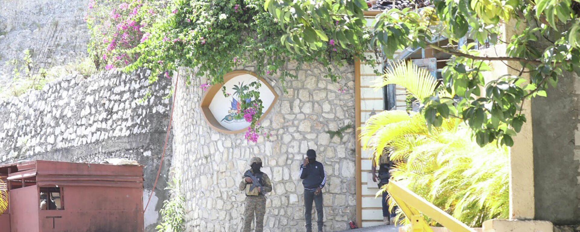 Residencia presidencial en Puerto Príncipe, Haití - Sputnik Mundo, 1920, 11.07.2021