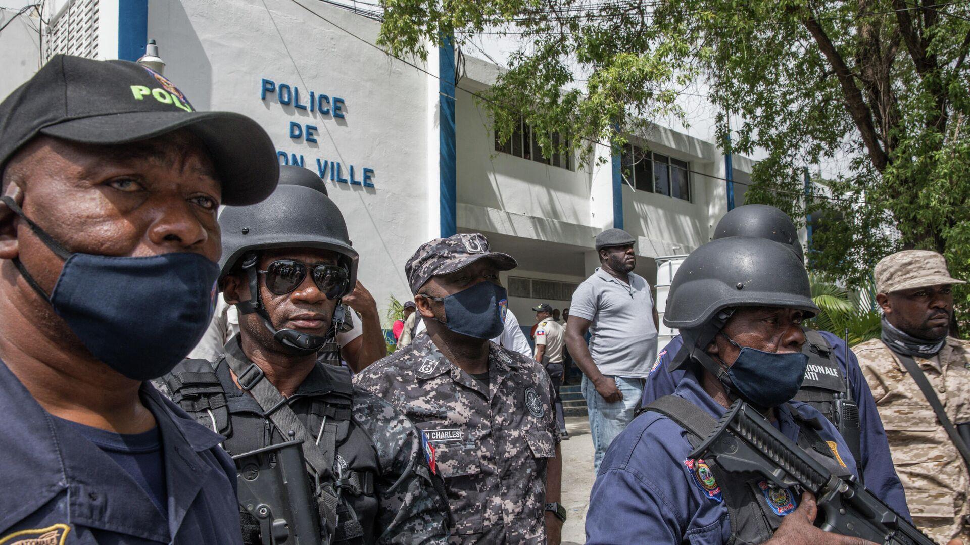Policía de Haití en Puerto Príncipe - Sputnik Mundo, 1920, 09.07.2021
