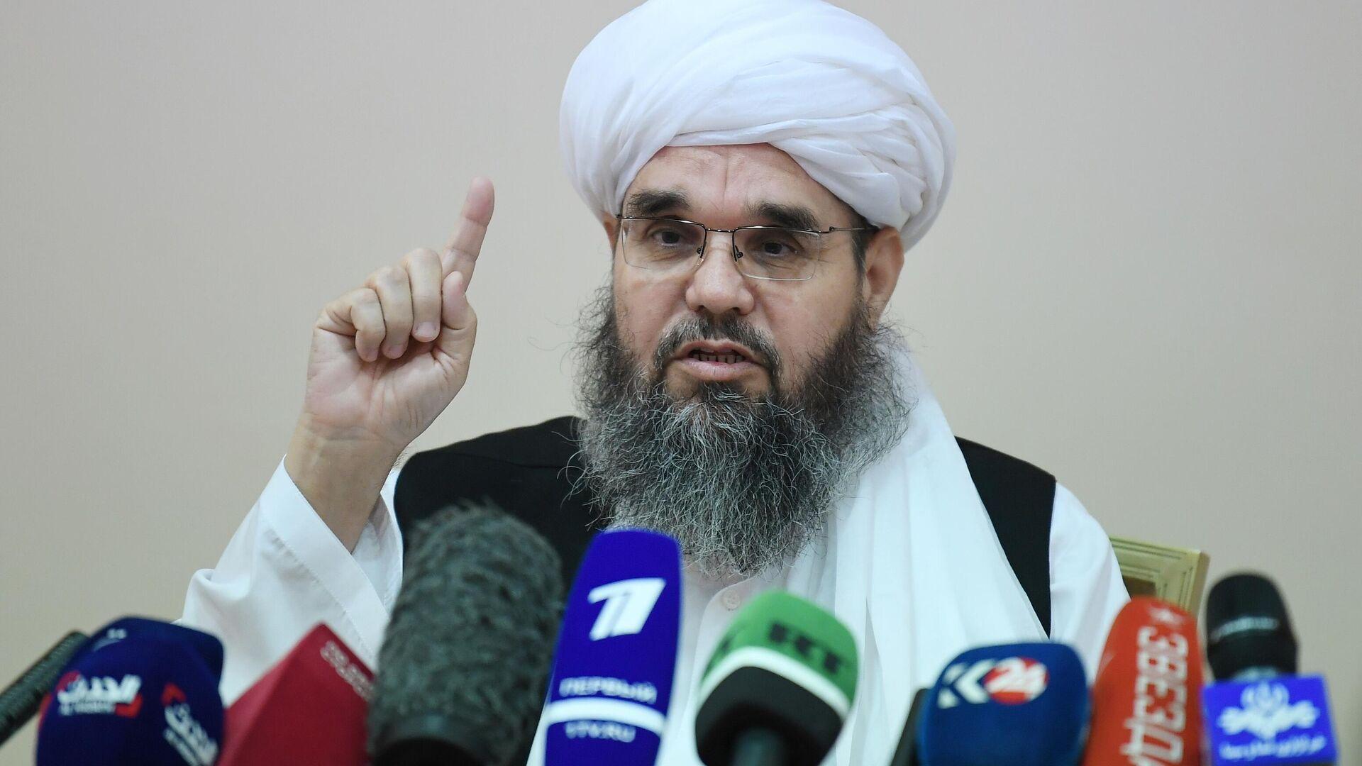 Shahabuddin Delawar, jefe de una delegación de los talibanes* - Sputnik Mundo, 1920, 09.07.2021