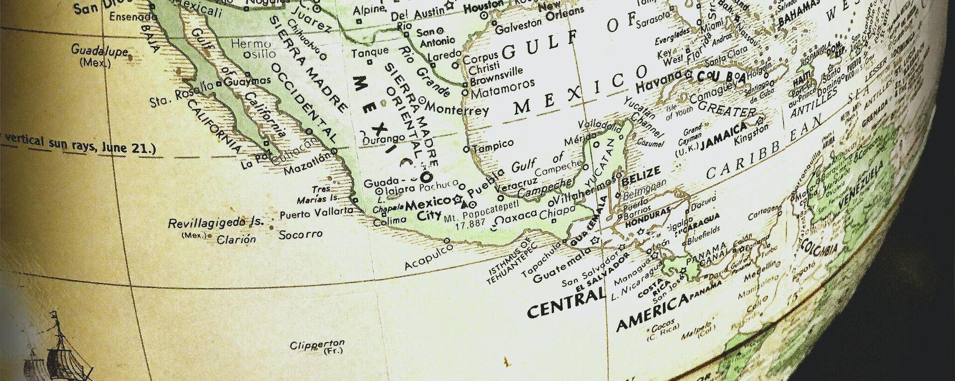 Mapa de Centroamérica - Sputnik Mundo, 1920, 29.07.2021