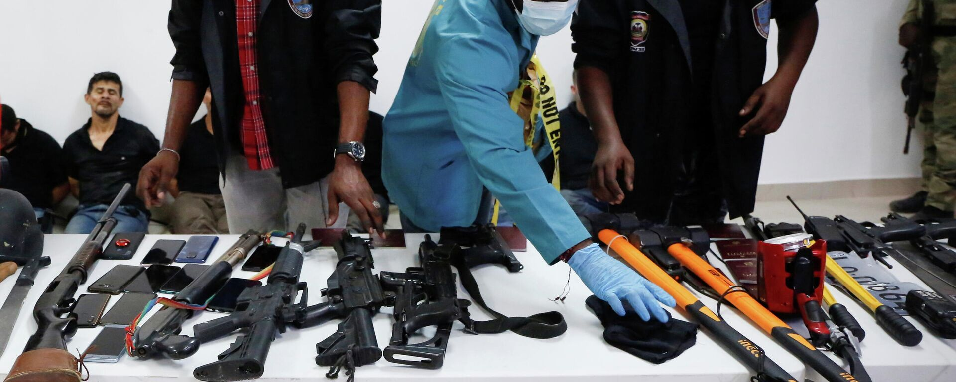 Armas del comando que asesinó al presidente de Haití - Sputnik Mundo, 1920, 09.07.2021
