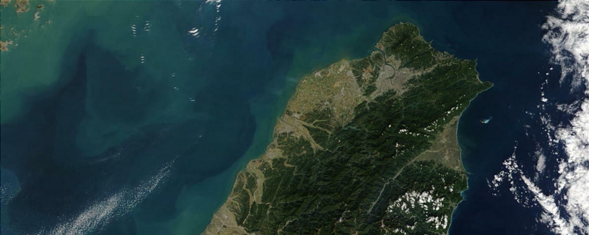 Imagen satelital de Taiwán - Sputnik Mundo, 1920, 09.07.2021