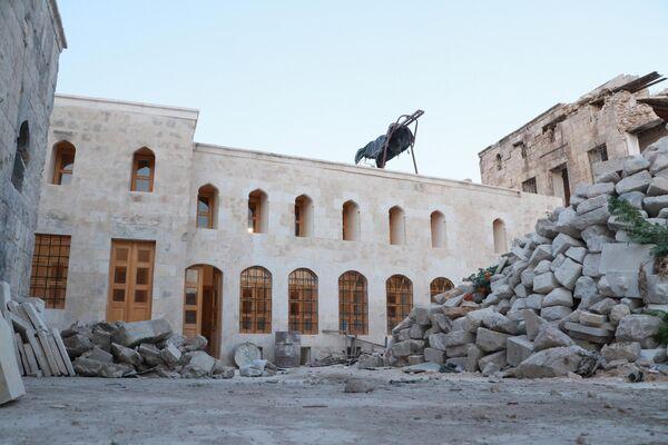 La barriada de la Ciudad Vieja y el mercado de Alepo - Sputnik Mundo
