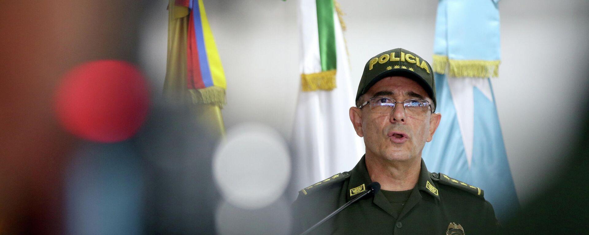 Jorge Luis Vargas, director de la Policía Nacional de Colombia - Sputnik Mundo, 1920, 16.07.2021