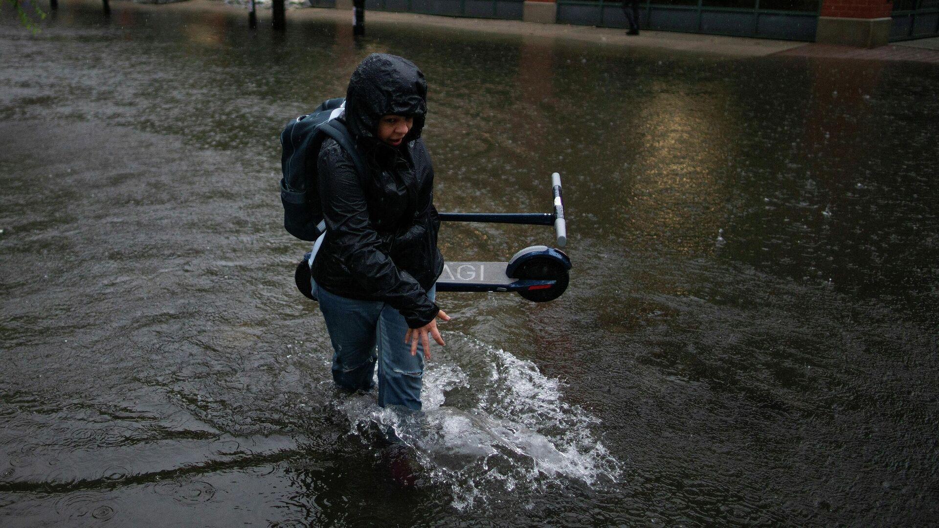 Inundaciones en Nueva Jersey - Sputnik Mundo, 1920, 09.07.2021