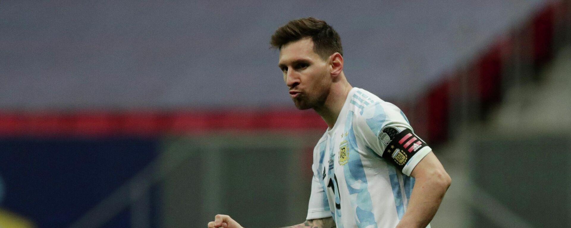 Lionel Messi, futbolista argentino - Sputnik Mundo, 1920, 10.07.2021