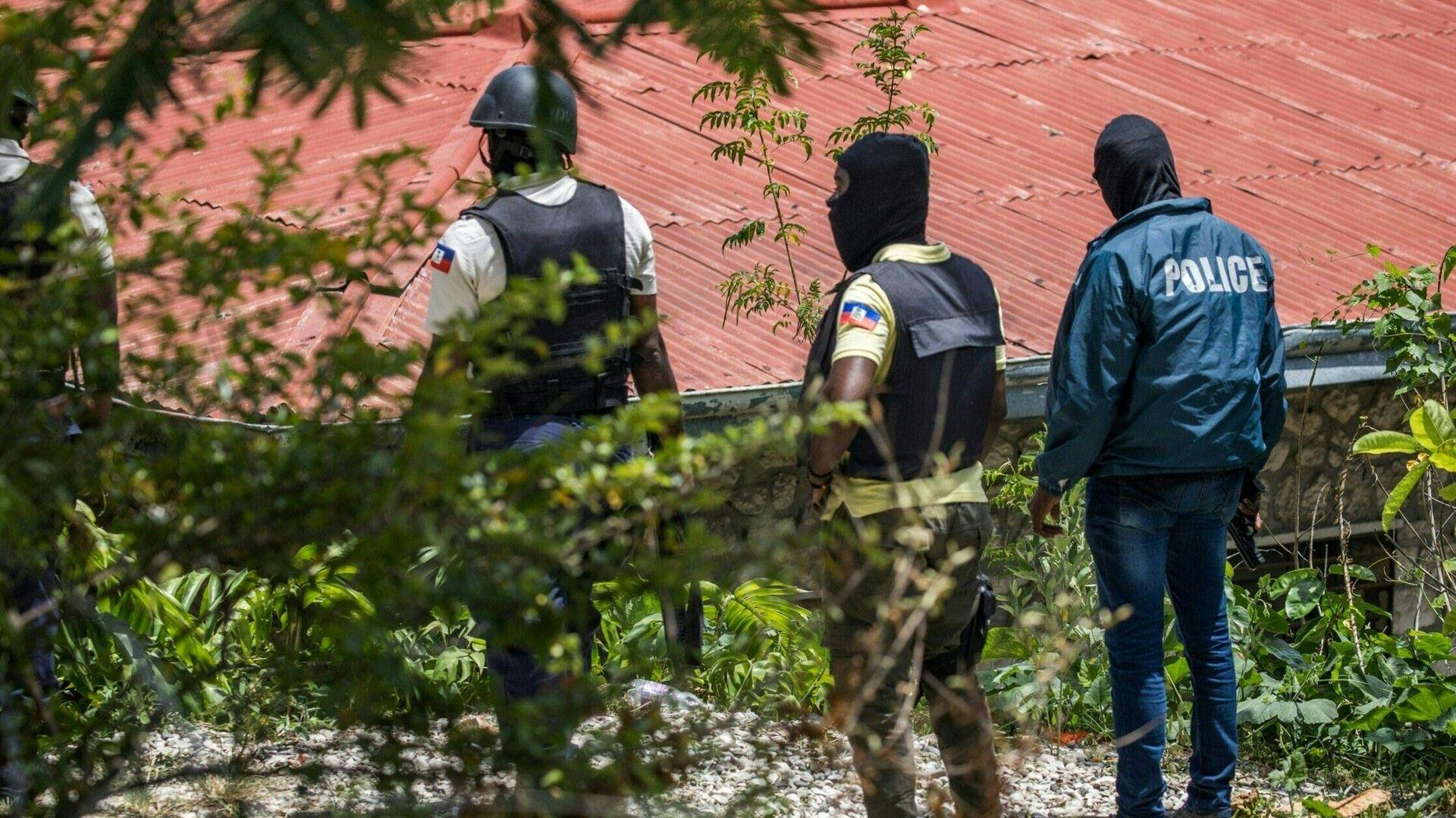 Policíaas de Haití en Puerto Príncipe - Sputnik Mundo, 1920, 12.07.2021