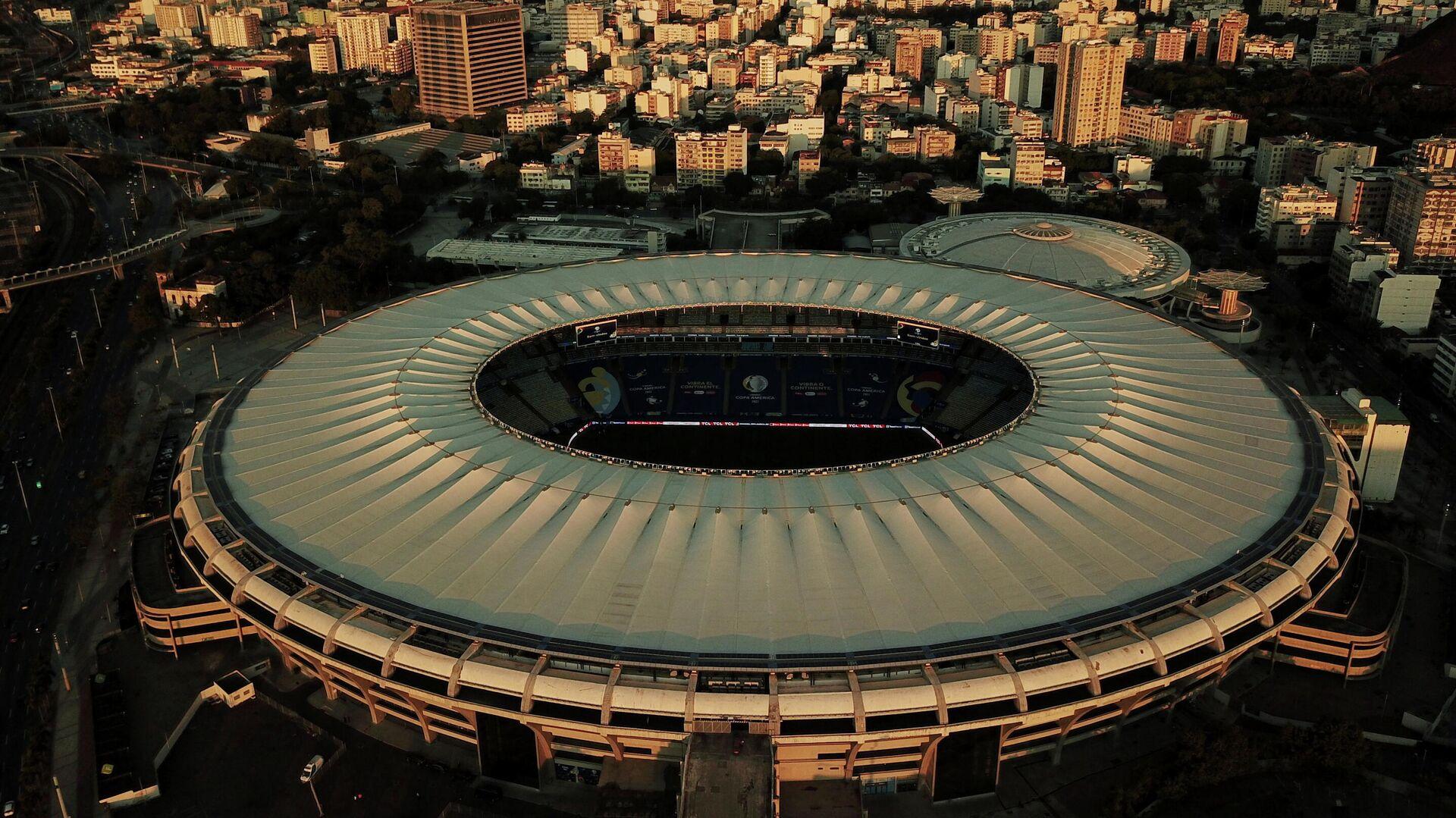 El estadio de Maracaná de Río de Janeiro, Brasil - Sputnik Mundo, 1920, 10.07.2021