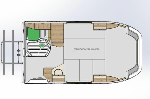 Configuración de la cabina en modo de dormitorio - Sputnik Mundo