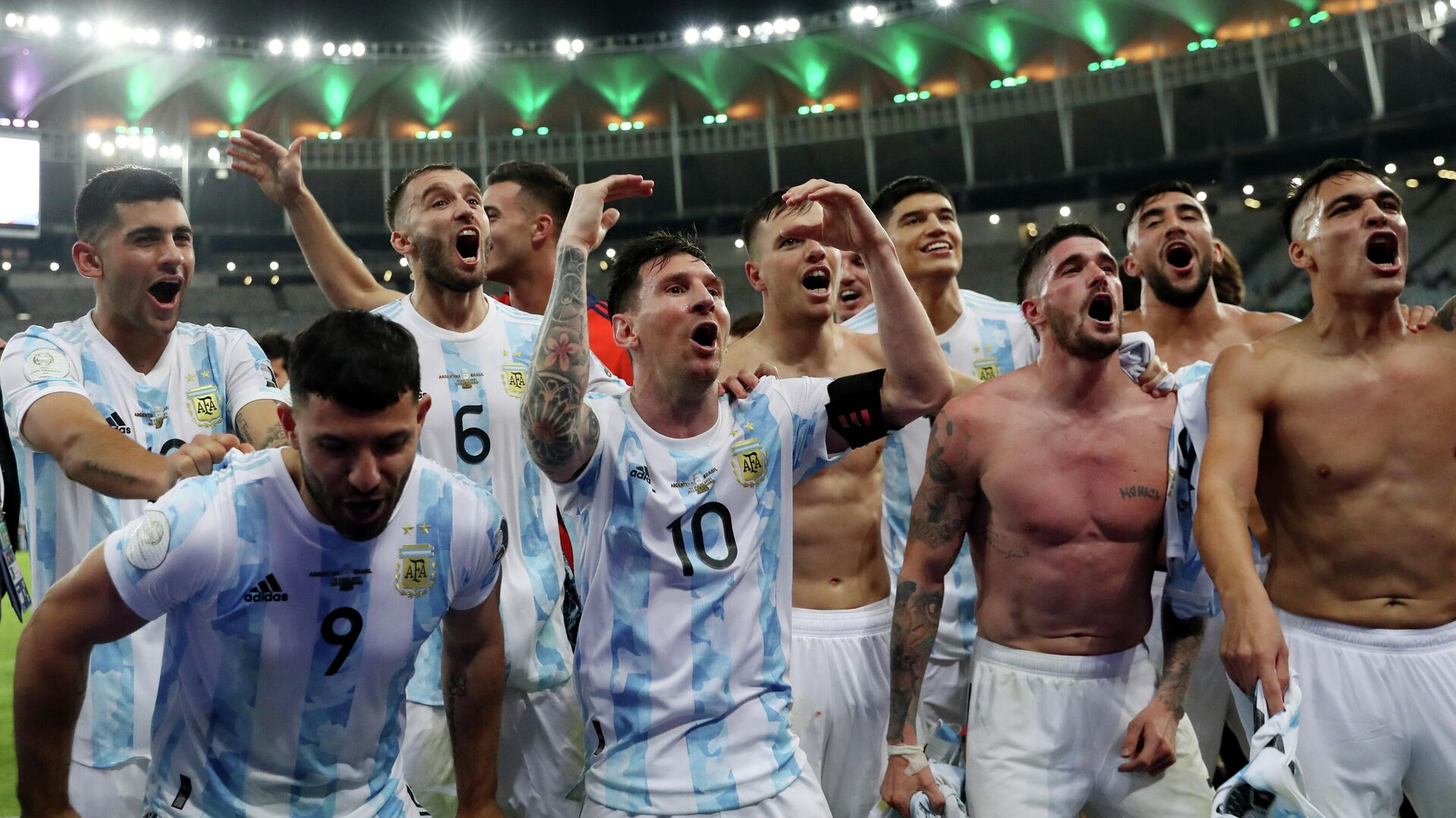 Selección de Argentina - Sputnik Mundo, 1920, 13.07.2021