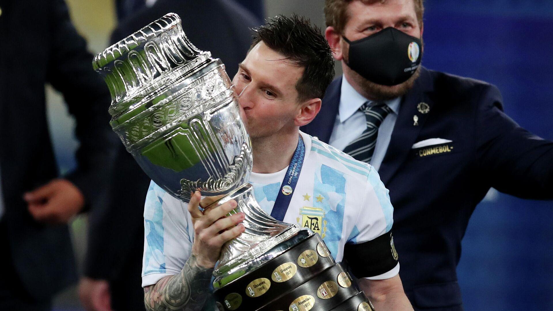 Lionel Messi, jugador argentino - Sputnik Mundo, 1920, 11.07.2021
