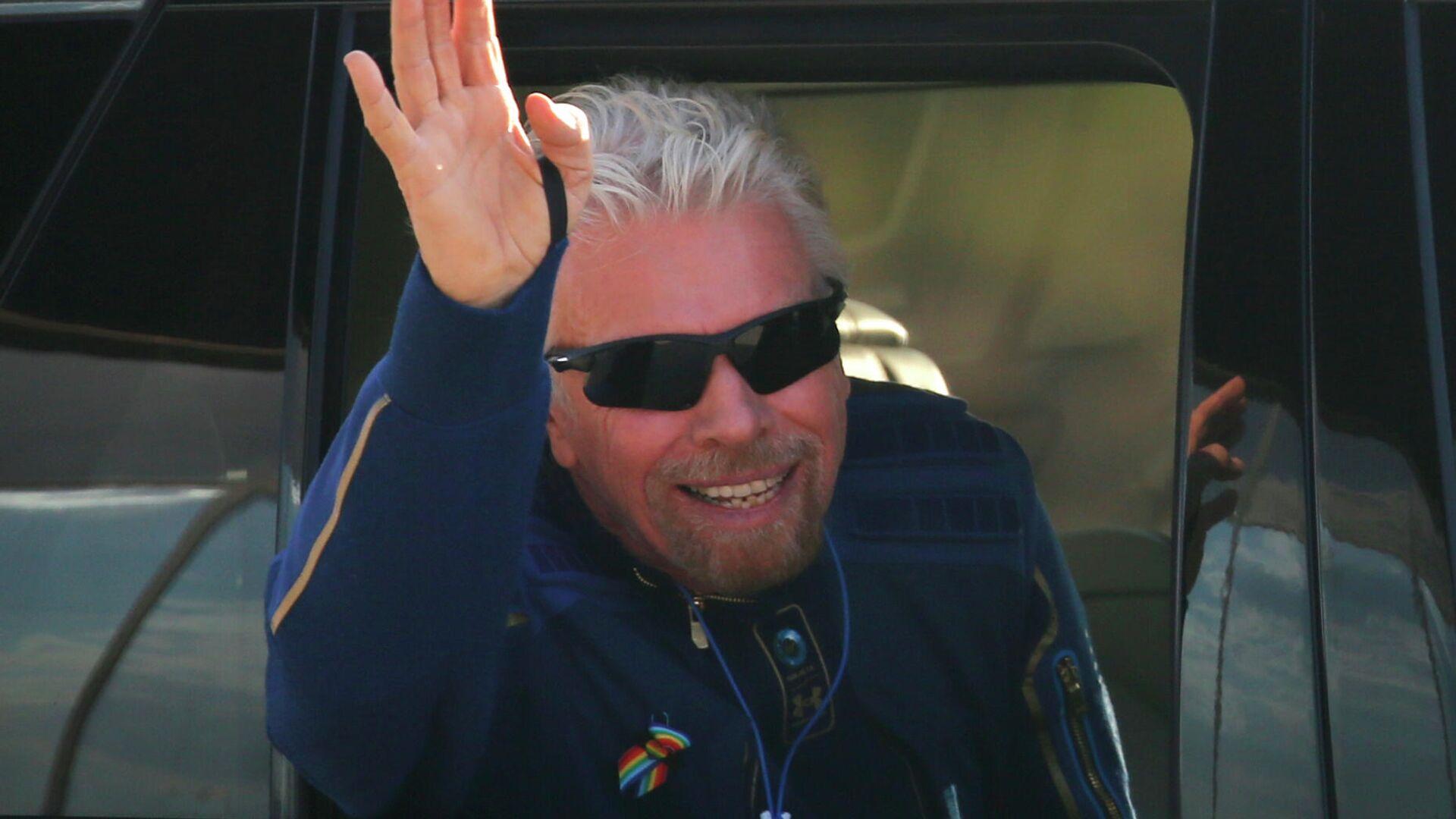 Richard Branson, fundador de Virgin Galactic - Sputnik Mundo, 1920, 11.07.2021
