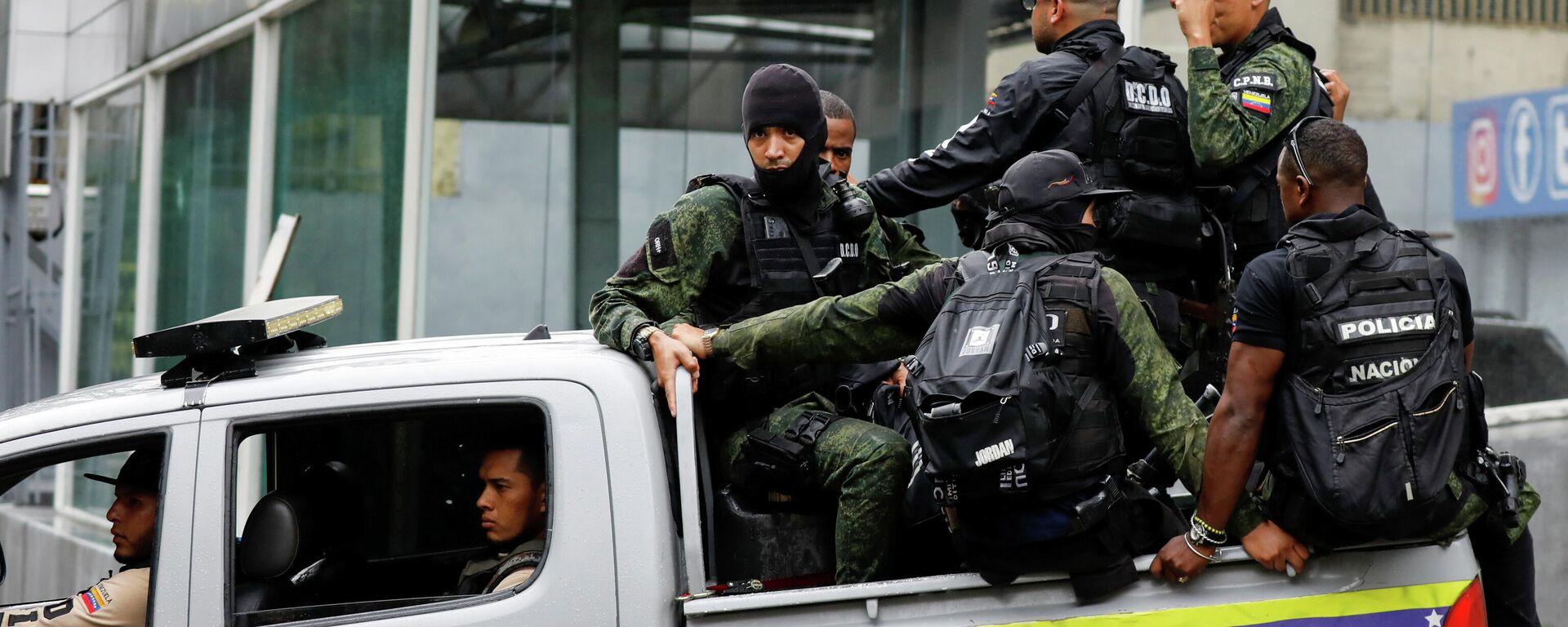 El operativo de seguridad en Caracas - Sputnik Mundo, 1920, 11.07.2021