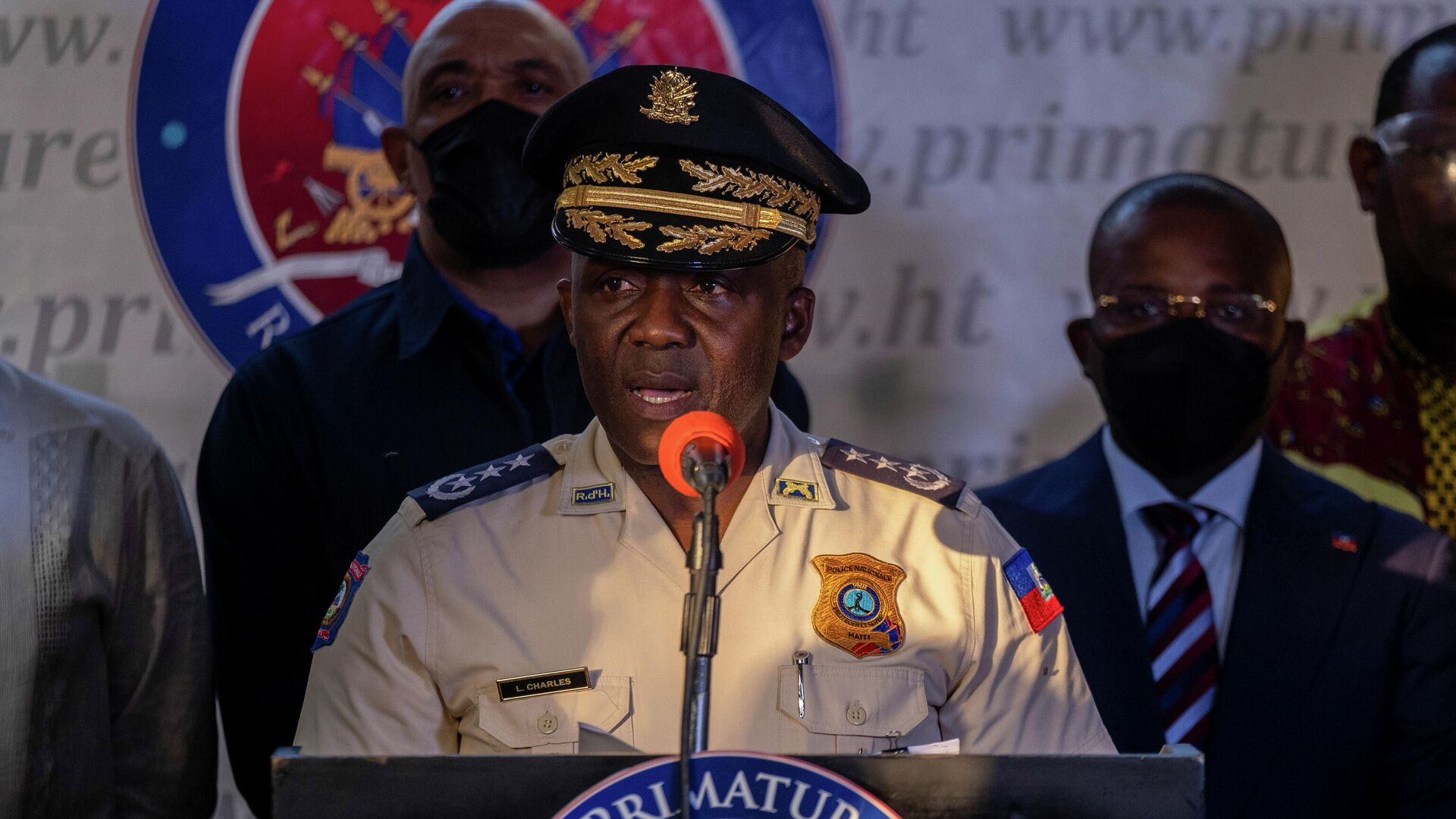León Charles, director de la Policía de Haití - Sputnik Mundo, 1920, 12.07.2021