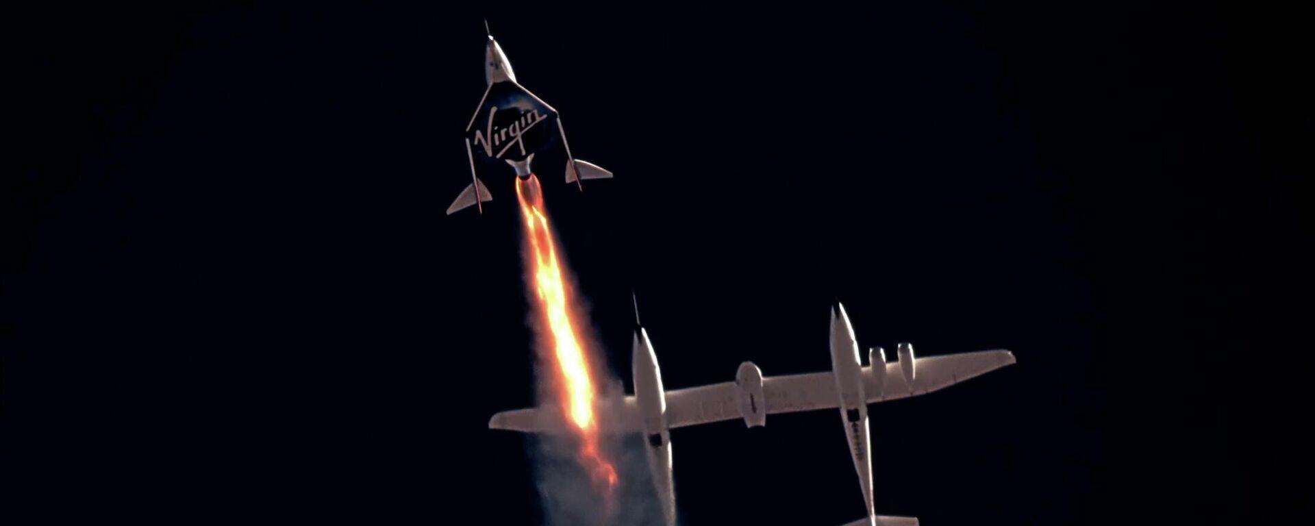 El avión espacial VSS Unity - Sputnik Mundo, 1920, 12.07.2021