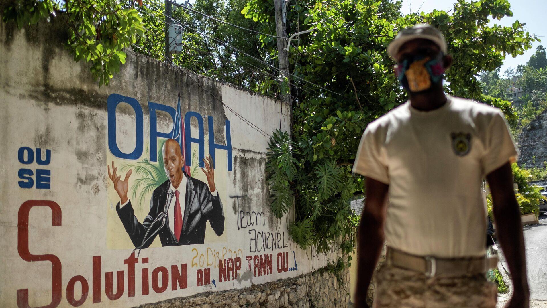 Un policía en Haití - Sputnik Mundo, 1920, 12.07.2021