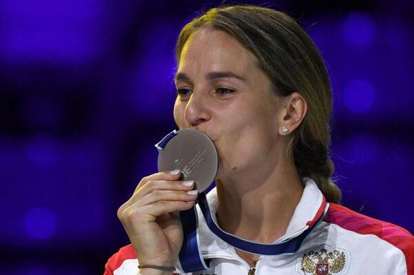 Sofia Velíkaya, esgrimista rusa - Sputnik Mundo