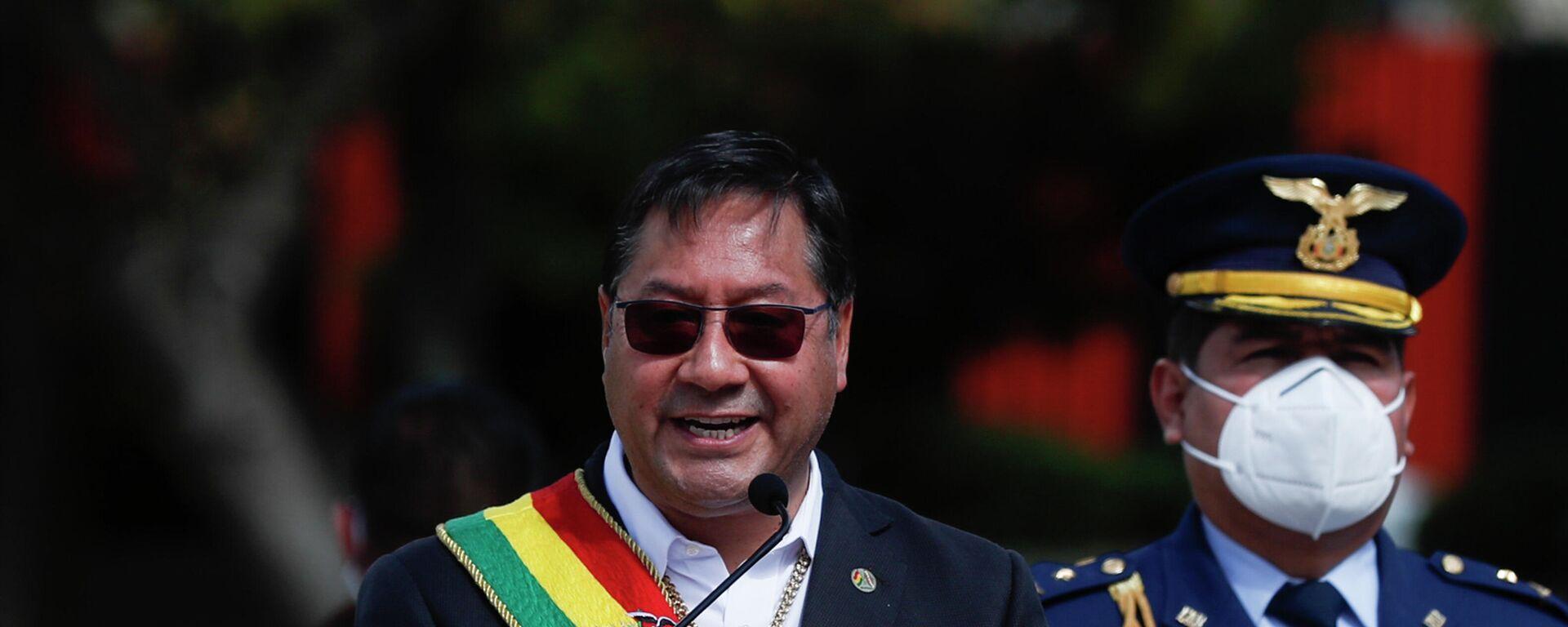 Luis Arce, presidente de Bolivia - Sputnik Mundo, 1920, 12.07.2021