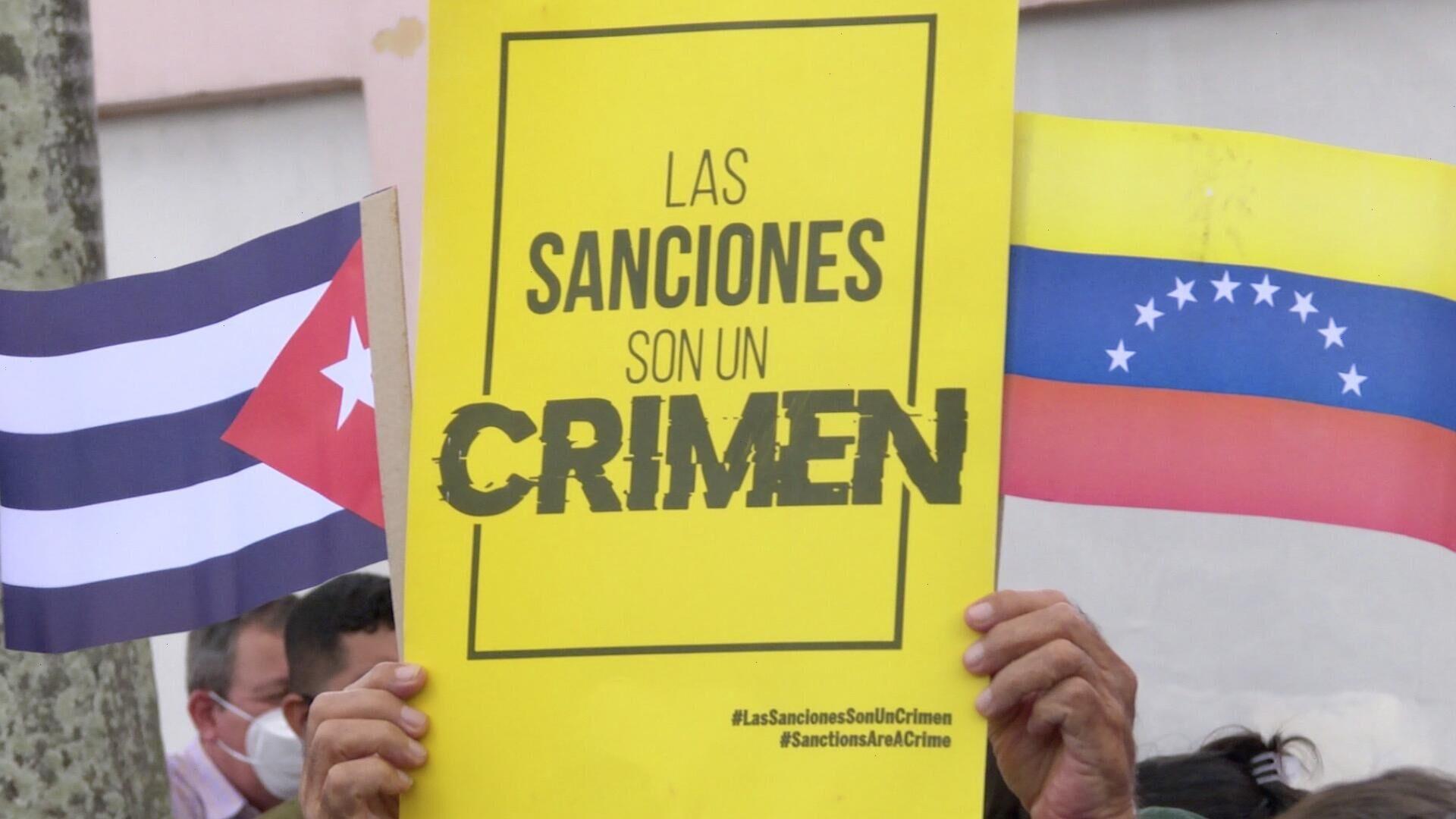 Aplican a Cuba la misma receta que a Venezuela y Nicaragua, denuncian militantes venezolanos - Sputnik Mundo, 1920, 12.07.2021