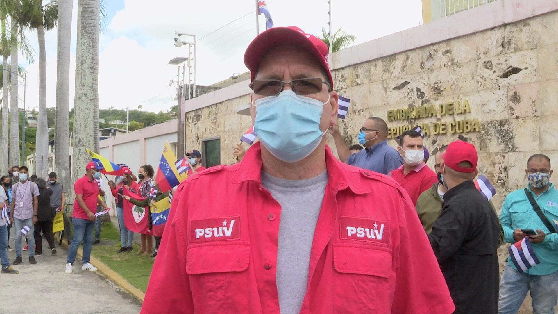 Diputado venezolano Jesús Farías: EEUU trata de desestabilizar a Cuba - Sputnik Mundo, 1920, 12.07.2021