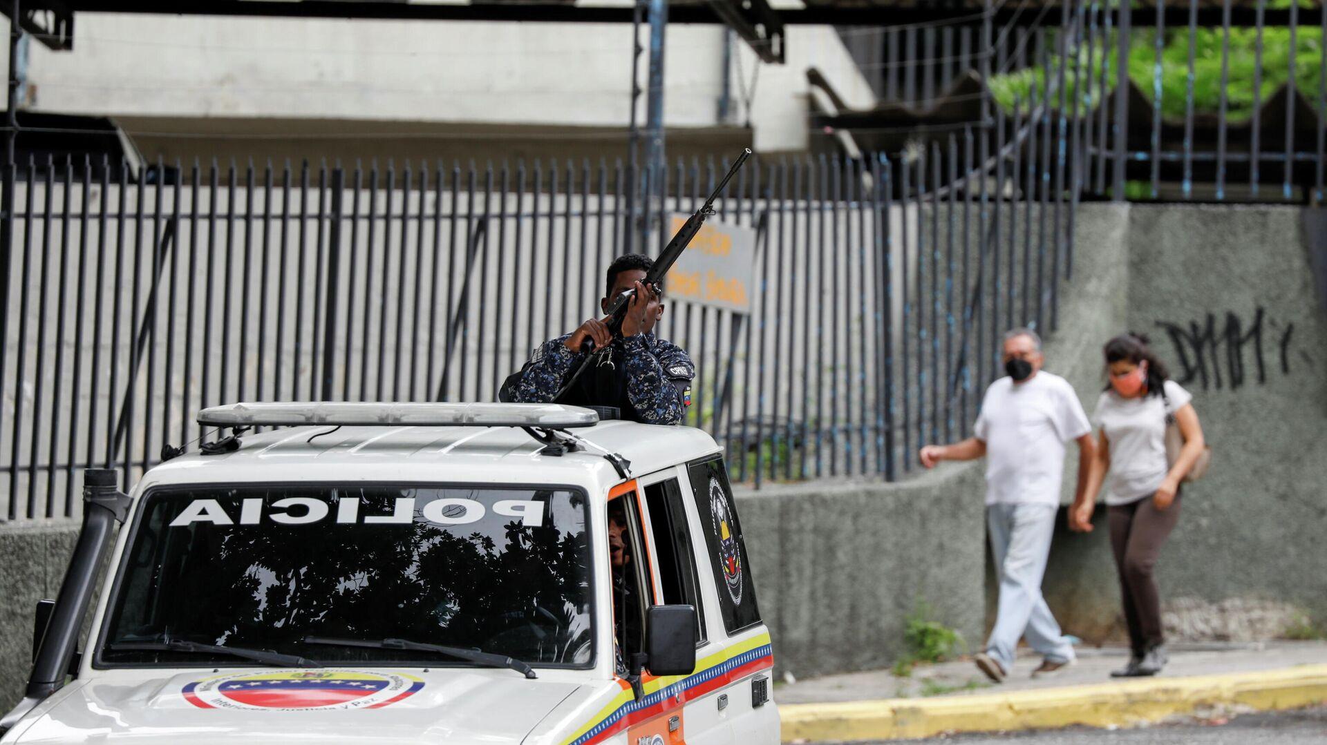 El operativo de seguridad en Caracas - Sputnik Mundo, 1920, 12.07.2021