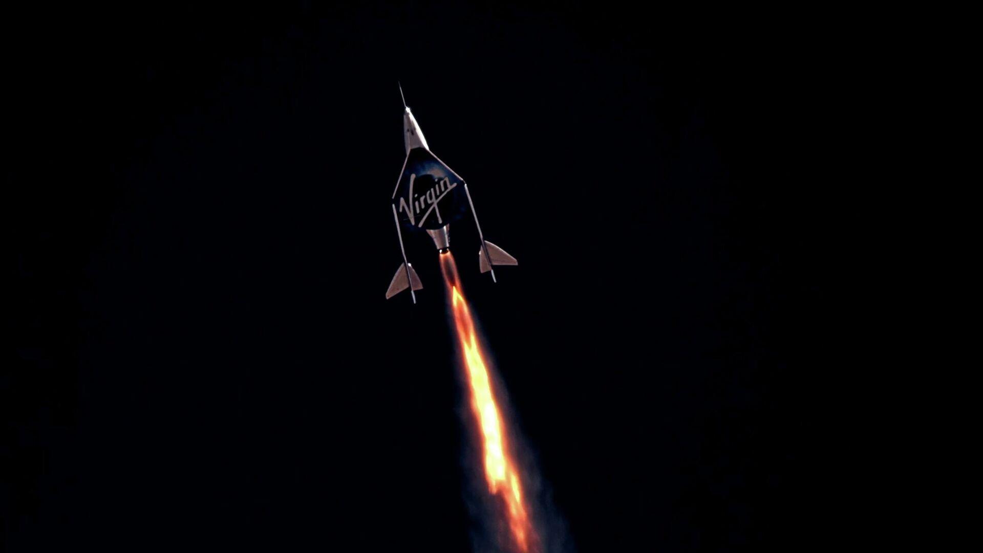 El avión espacial VSS Unity - Sputnik Mundo, 1920, 13.07.2021