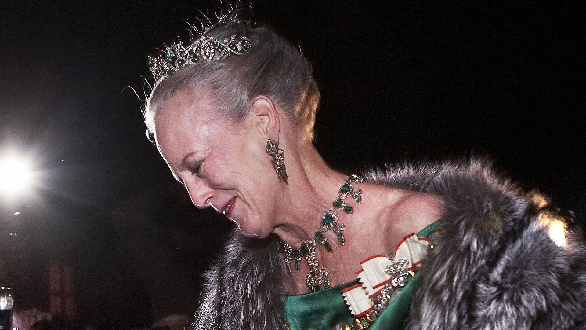 Margarita II, reina de Dinamarca, llega a la ceremonia de celebración de Año Nuevo el 1 de enero de 2007 - Sputnik Mundo, 1920, 13.07.2021