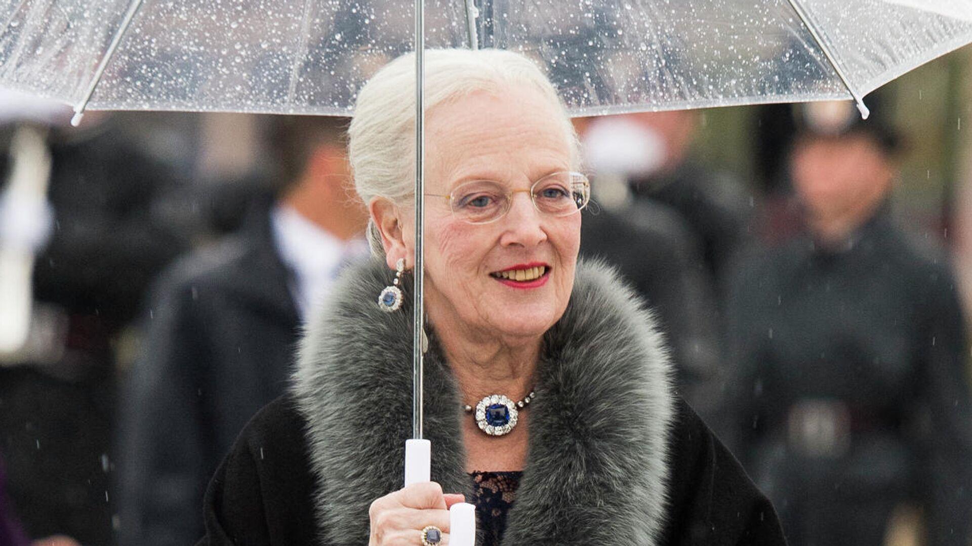 Margarita II, reina de Dinamarca, llega a una gala de la monarquía noruega el 10 de mayo de 2017 - Sputnik Mundo, 1920, 13.07.2021