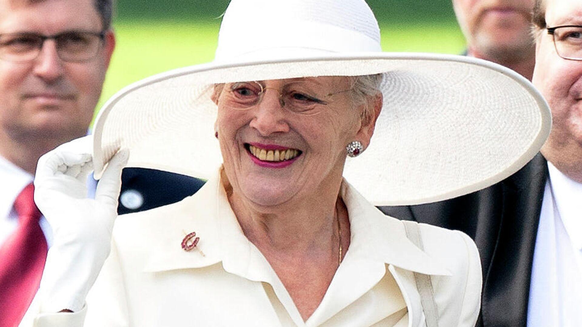 Margarita II, reina de Dinamarca, durante las celebraciones del centenario de la reunificación de Dinamarca. - Sputnik Mundo, 1920, 13.07.2021