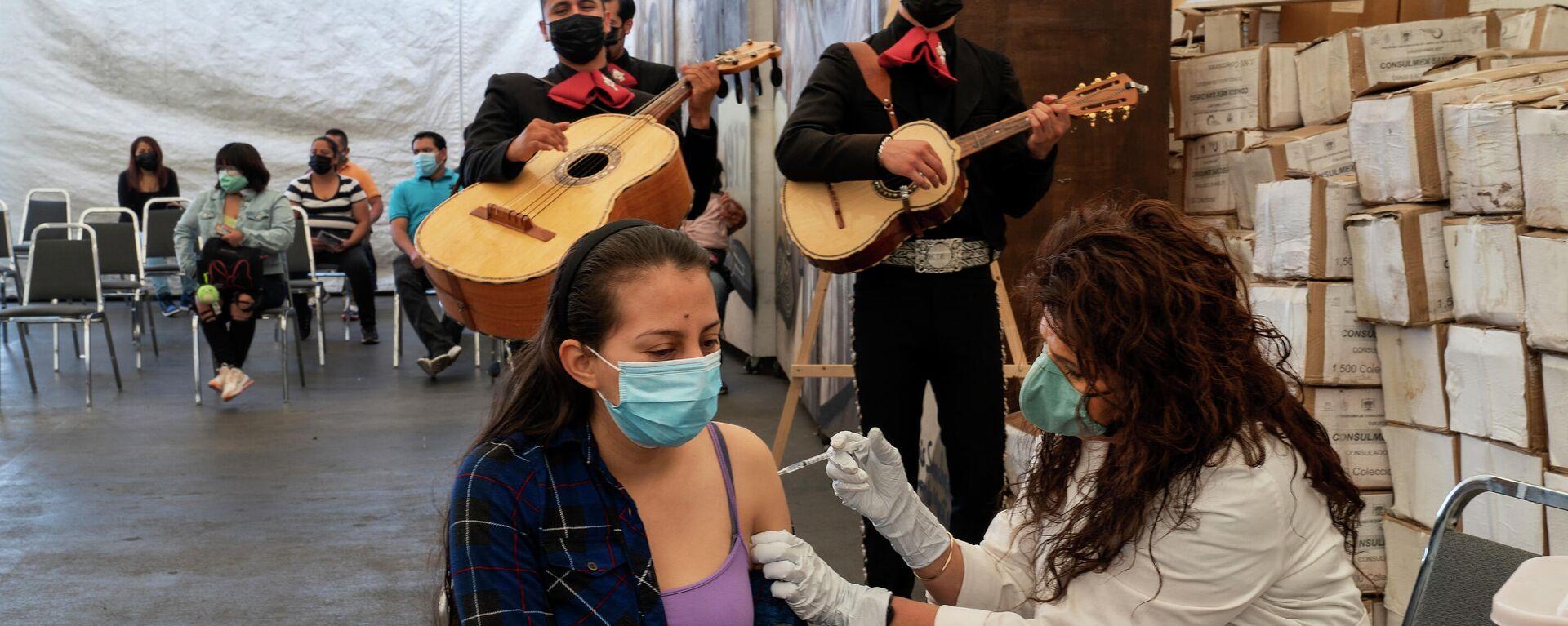 Vacunación en México - Sputnik Mundo, 1920, 13.07.2021
