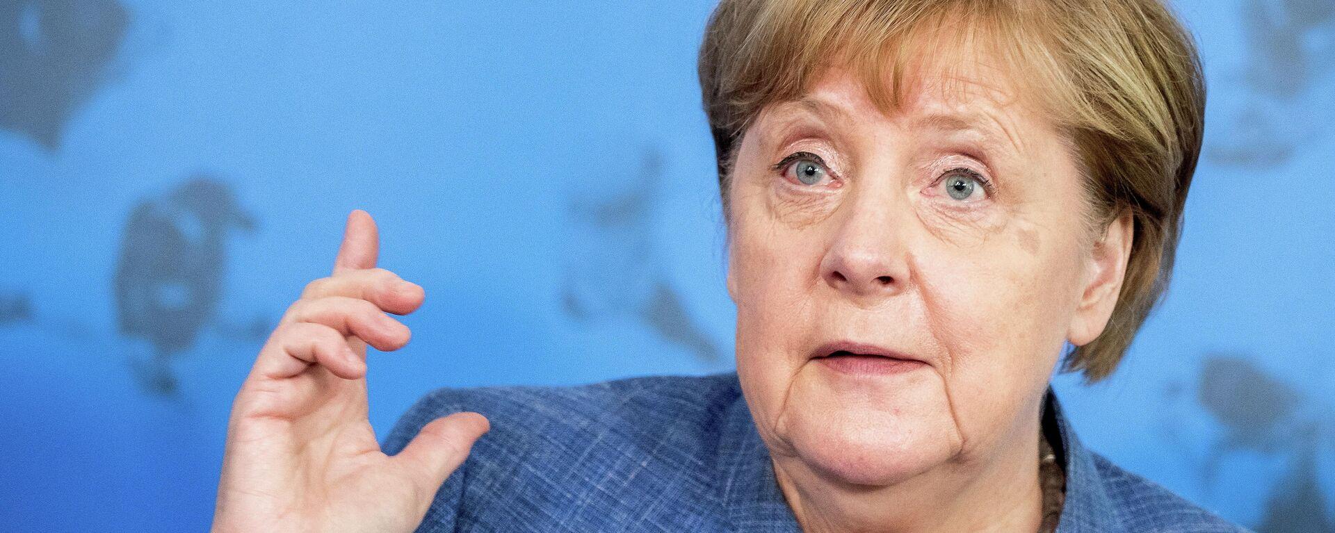 Angela Merkel, canciller alemana - Sputnik Mundo, 1920, 13.07.2021