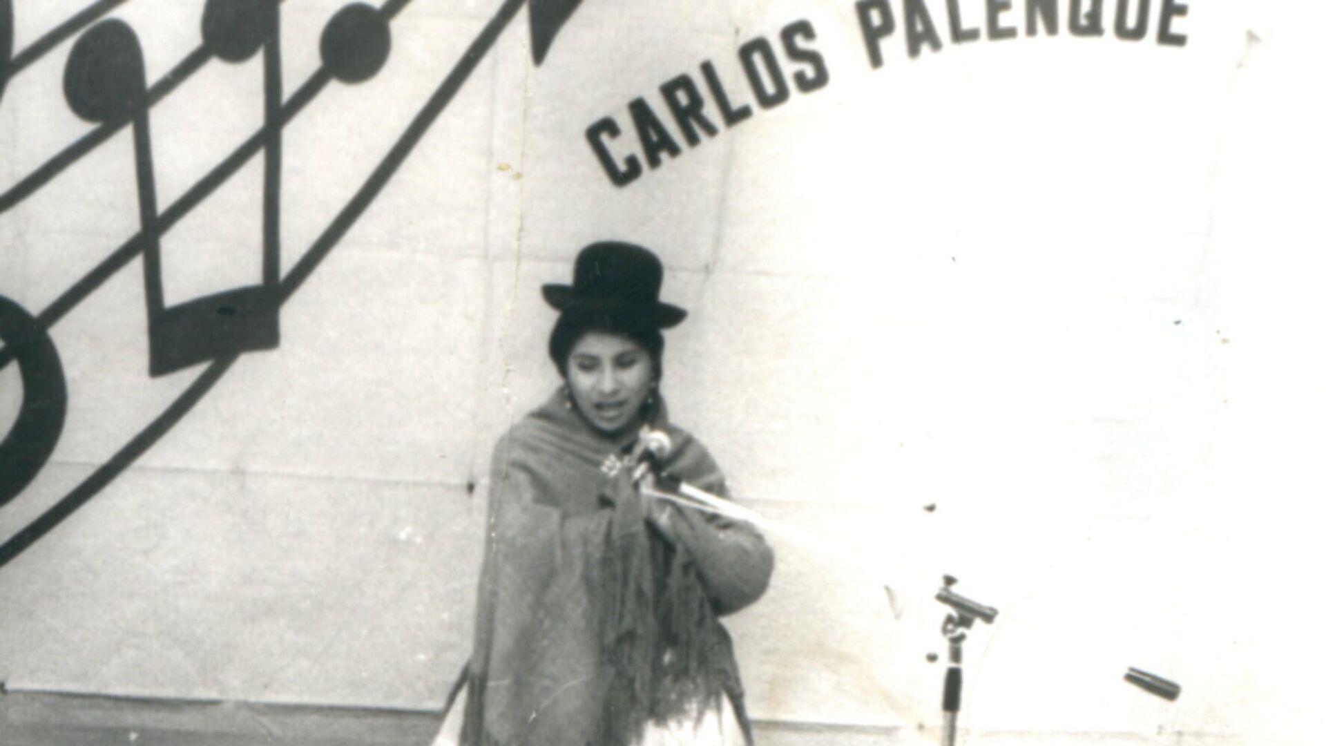Remedios Loza, primera parlamentaria de pollera en Bolivia (1988) - Sputnik Mundo, 1920, 13.07.2021