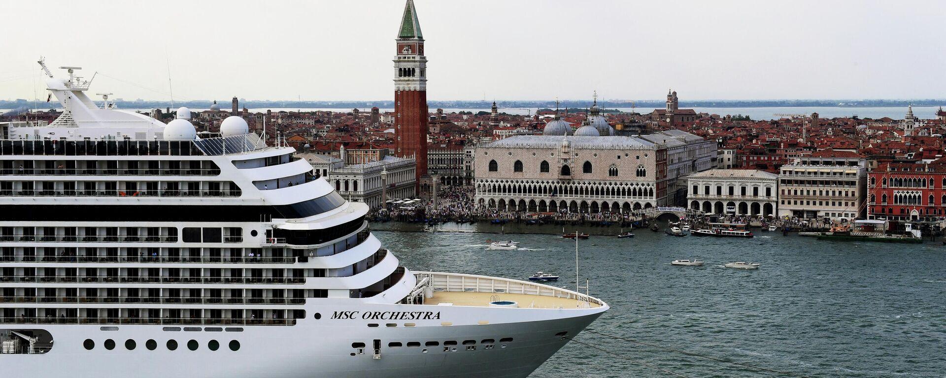 Un crucero en Venecia, Italia - Sputnik Mundo, 1920, 14.07.2021