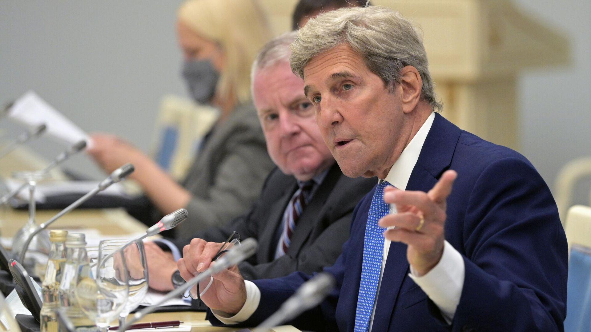El enviado especial de EEUU para el clima, John Kerry - Sputnik Mundo, 1920, 14.07.2021
