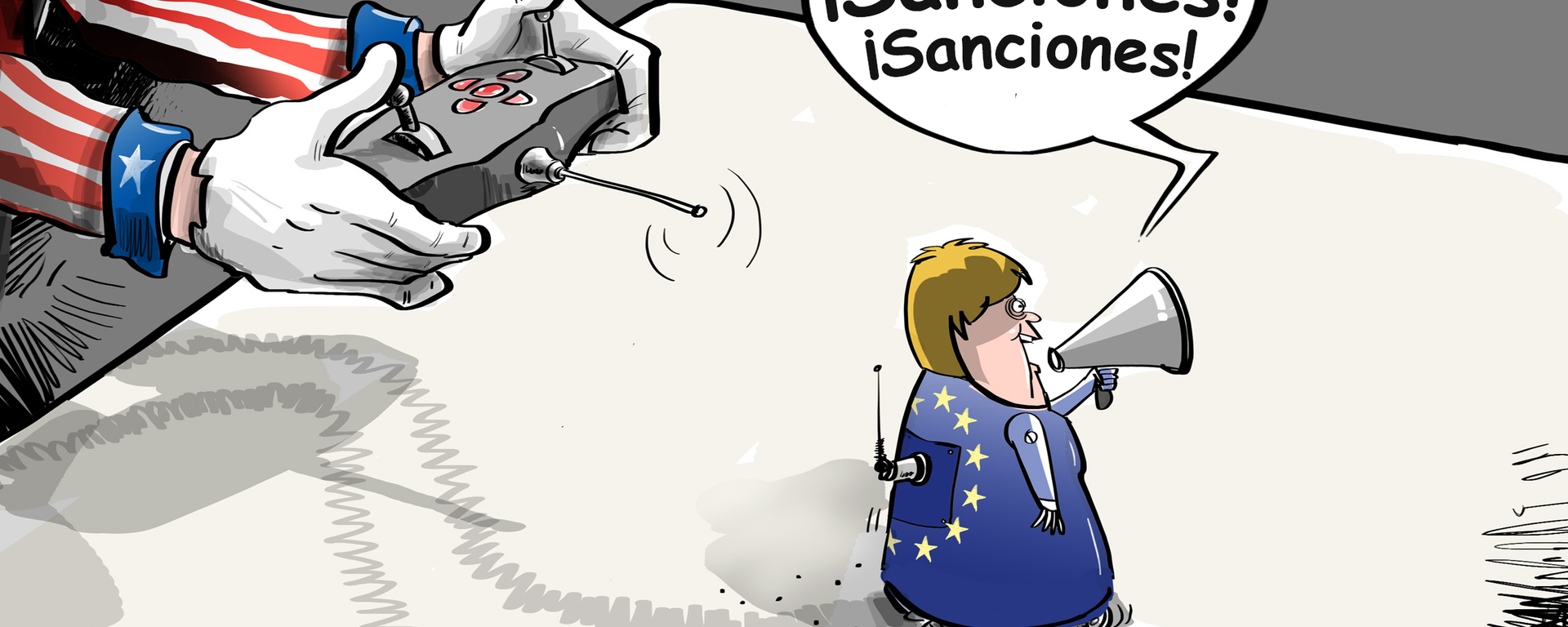 ¿No sería más fácil que la UE reconociera que EEUU es su soberano?  - Sputnik Mundo, 1920, 14.07.2021