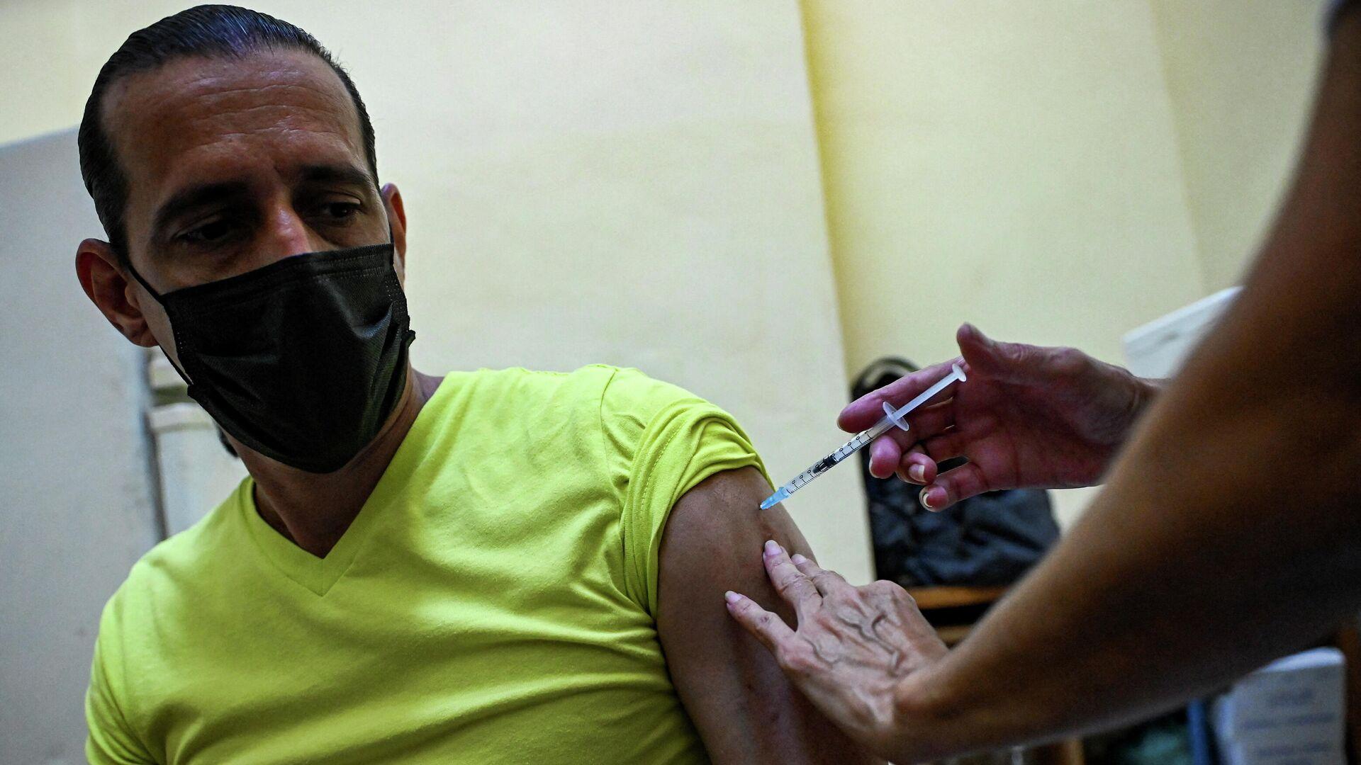 Vacunación contra COVID-19 en Cuba - Sputnik Mundo, 1920, 14.07.2021