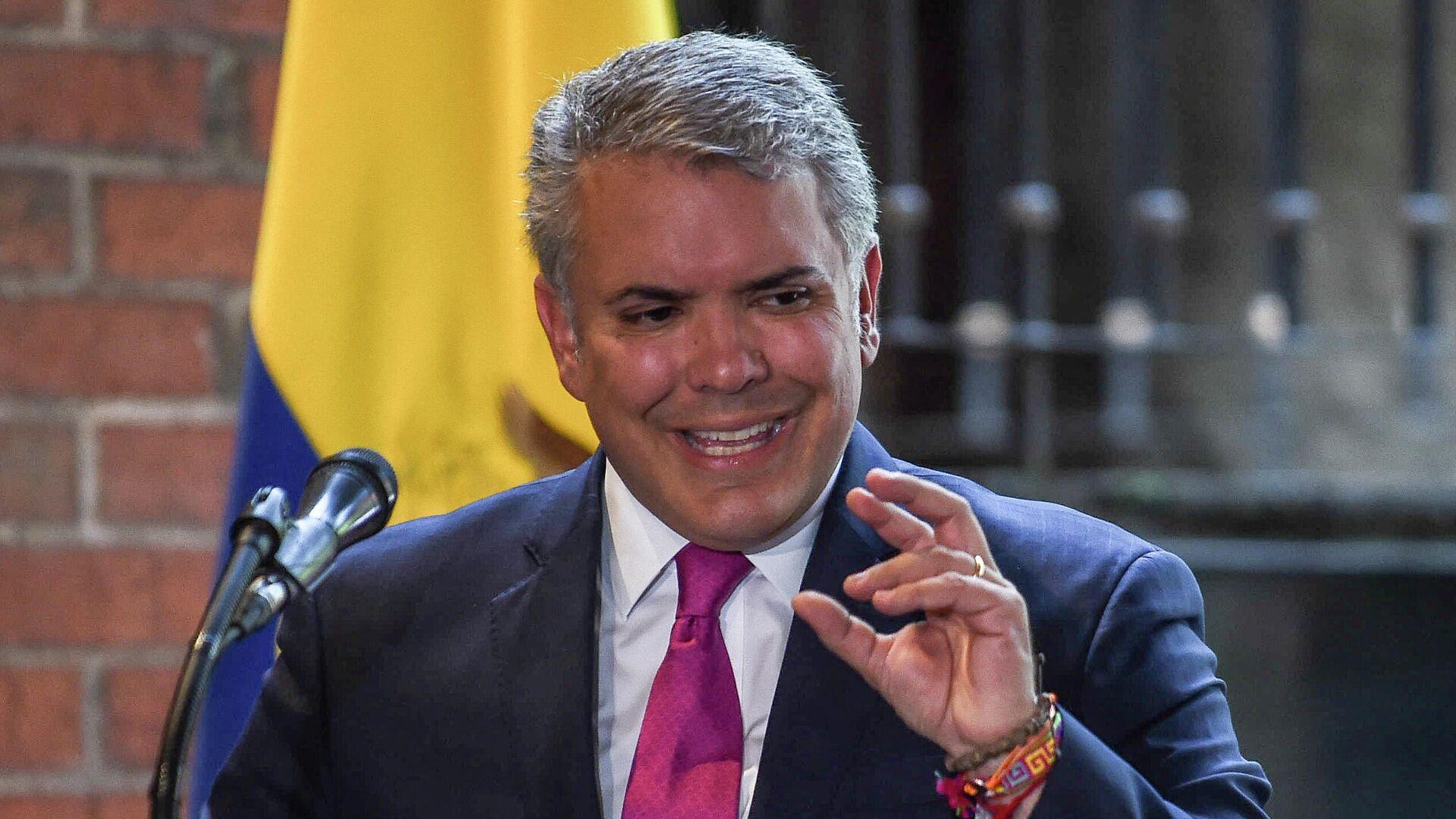 Iván Duque, presidente de Colombia - Sputnik Mundo, 1920, 23.07.2021