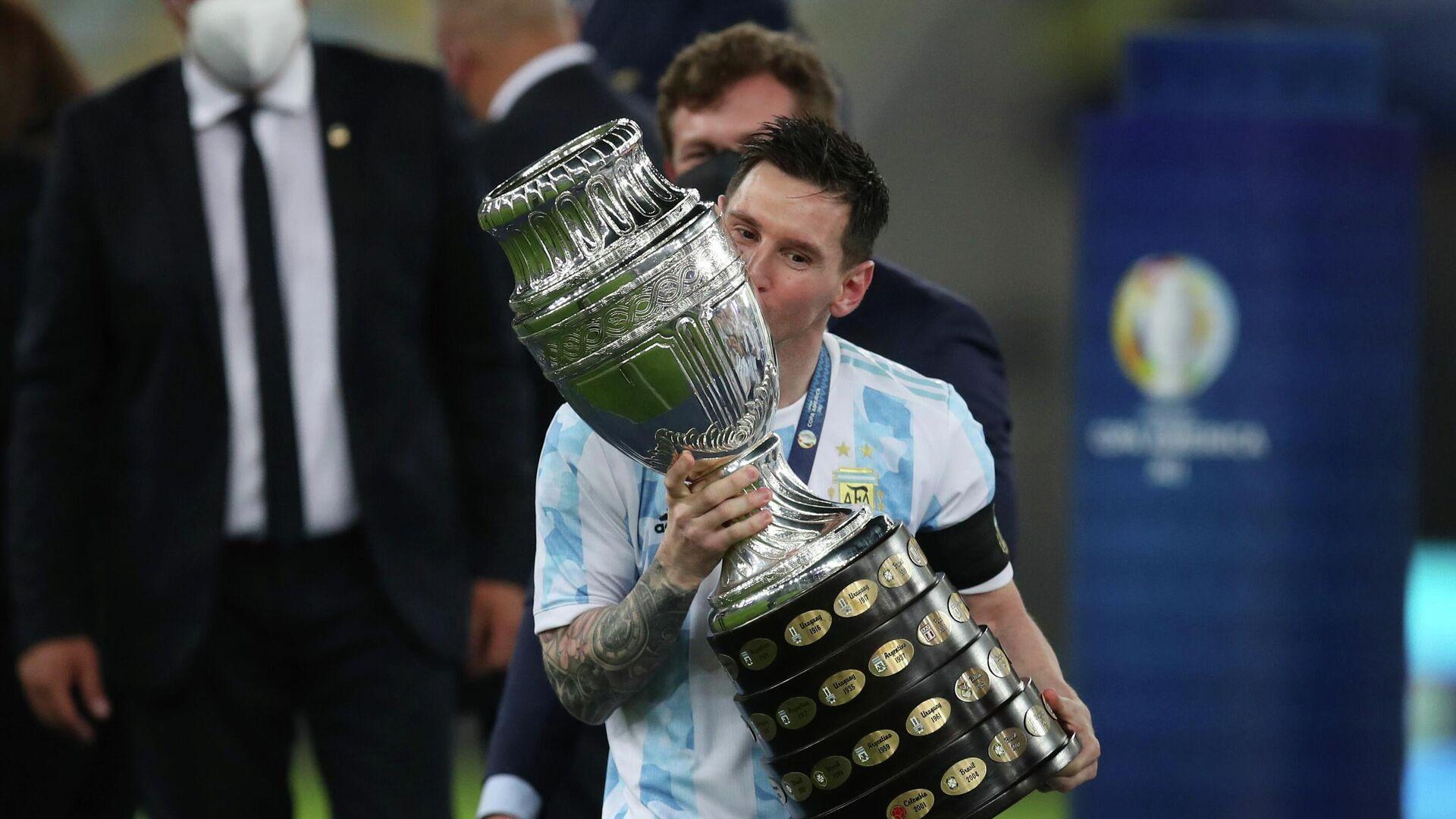 Lionel Messi, futbolista argentino - Sputnik Mundo, 1920, 15.07.2021