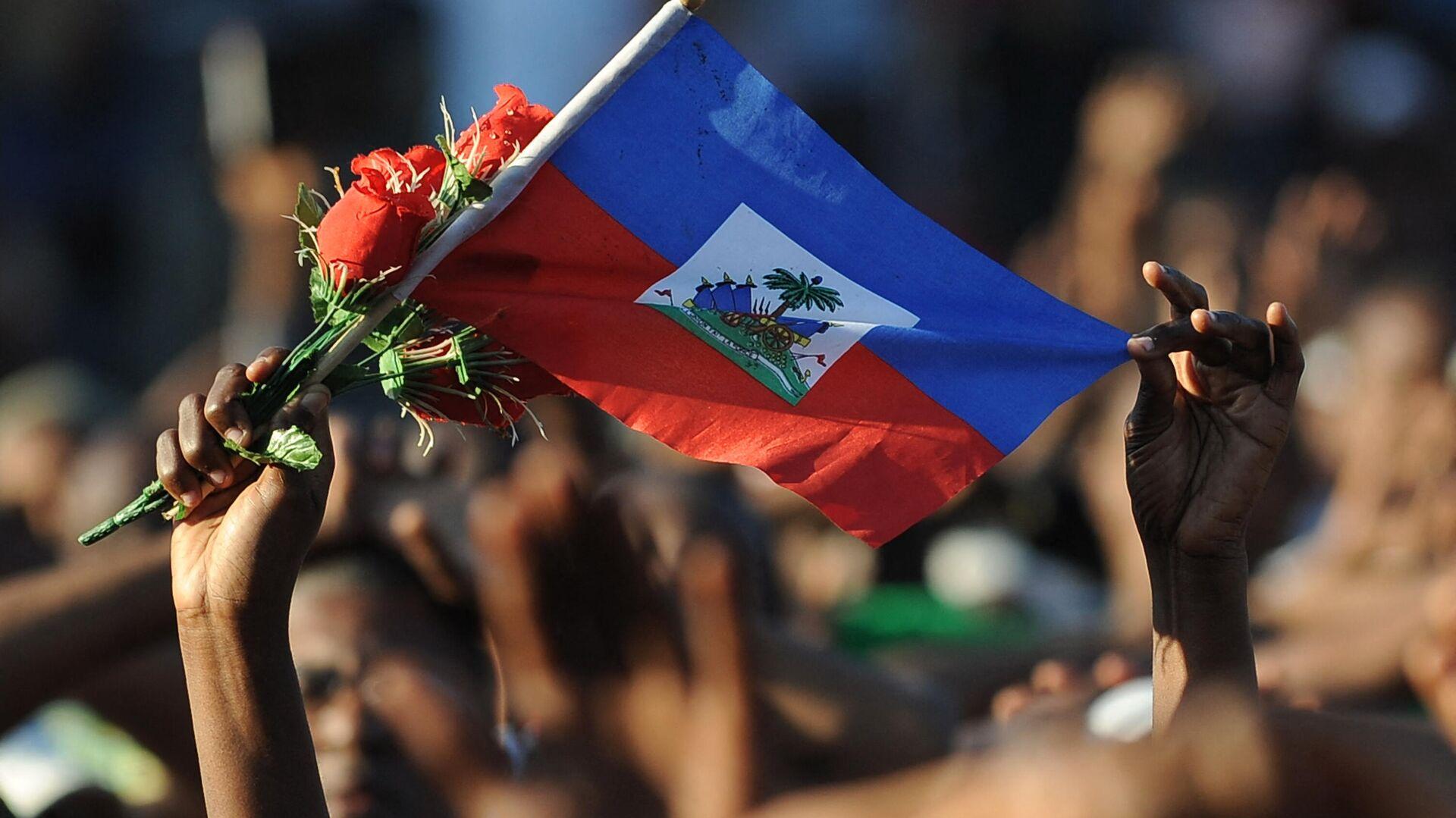 La bandera de Haití - Sputnik Mundo, 1920, 30.07.2021