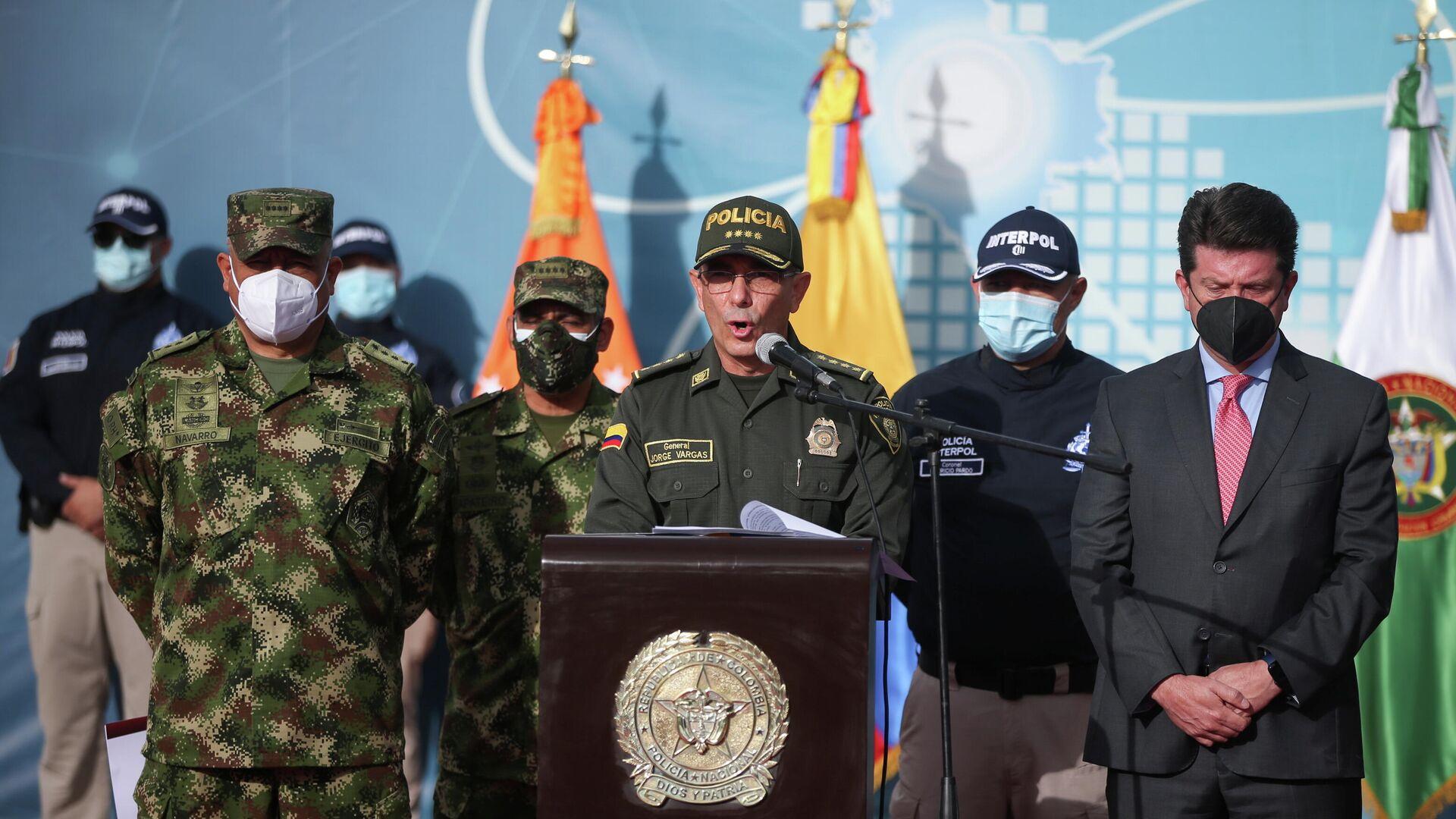 Jorge Luis Vargas, director de la Policía Nacional de Colombia - Sputnik Mundo, 1920, 15.07.2021
