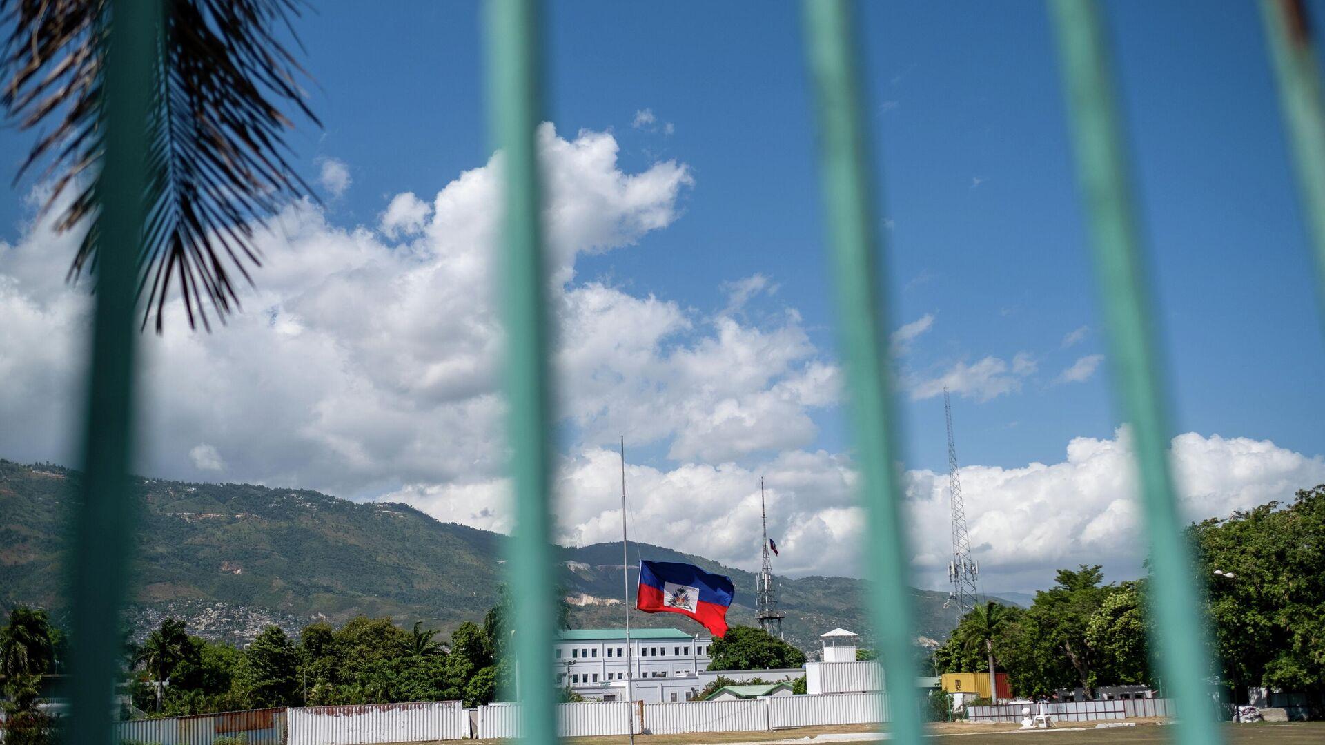 La bandera nacional de Haití  - Sputnik Mundo, 1920, 27.07.2021