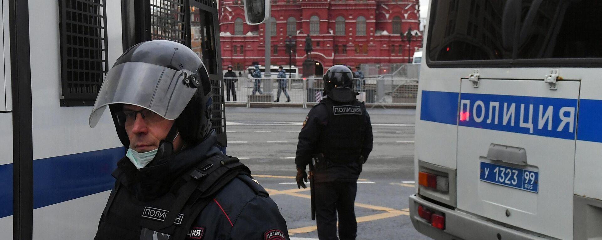 Agentes de seguridad rusos en Moscú (imagen referencial) - Sputnik Mundo, 1920, 15.07.2021