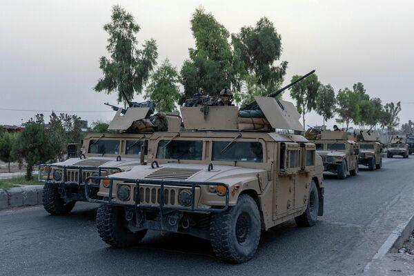 Militares afganos, foto por Danish Siddiqui - Sputnik Mundo