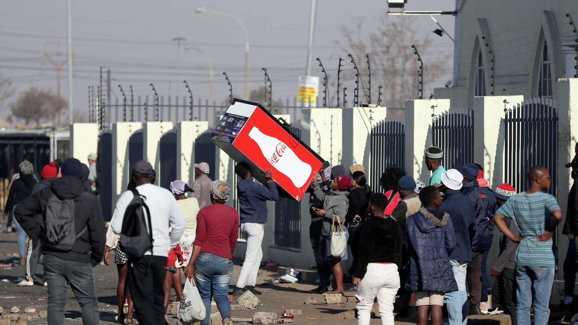 Protestas en Sudáfrica - Sputnik Mundo, 1920, 16.07.2021