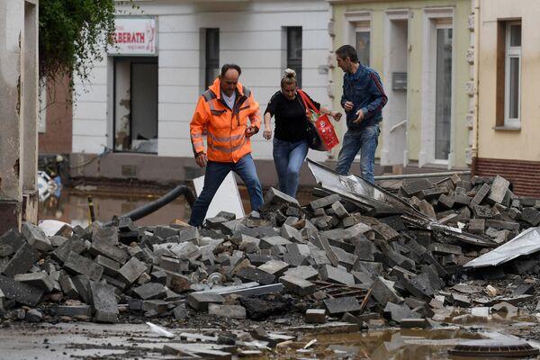 Se pronostica que la región será azotada por más lluvias en los próximos días. - Sputnik Mundo