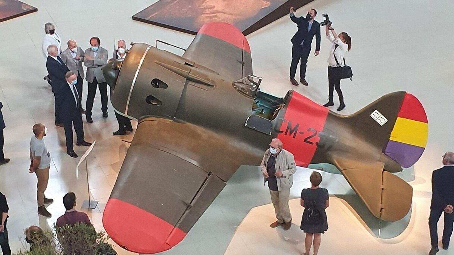 El Museo Nacional de Cataluña expone dos réplicas de aviones soviéticos de la Guerra Civil - Sputnik Mundo, 1920, 16.07.2021